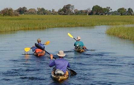 Kayaking the Okavango Delta, Botswana